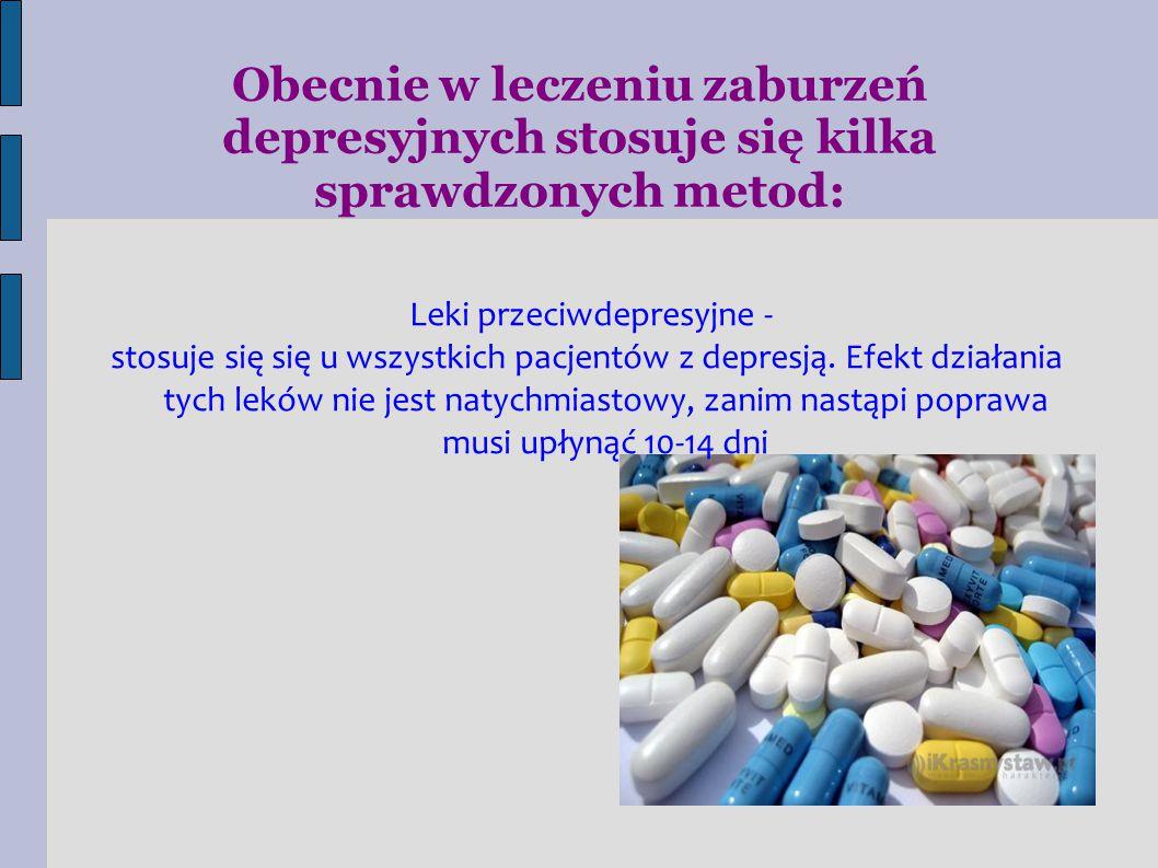 Leki przeciwdepresyjne -