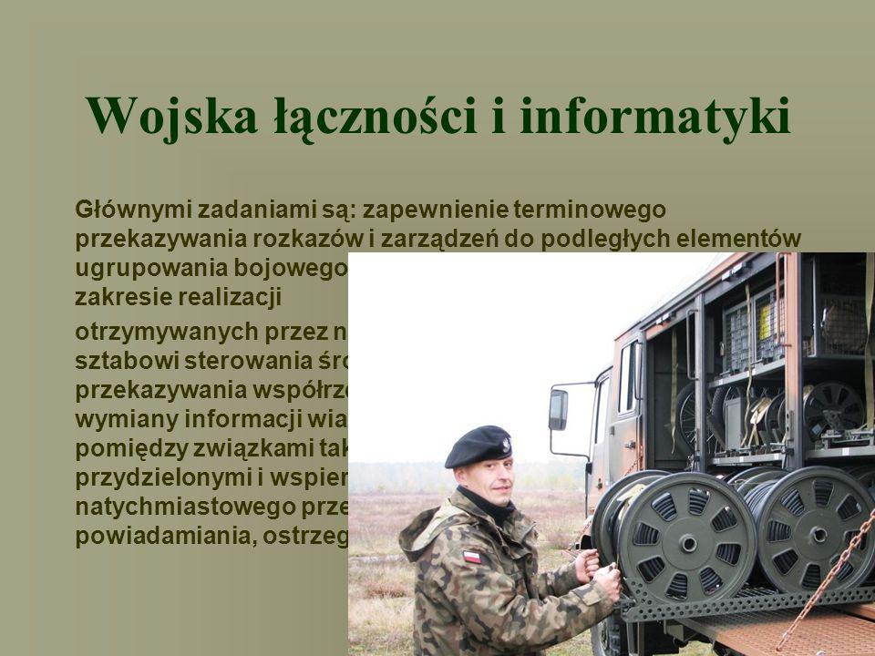 Wojska łączności i informatyki