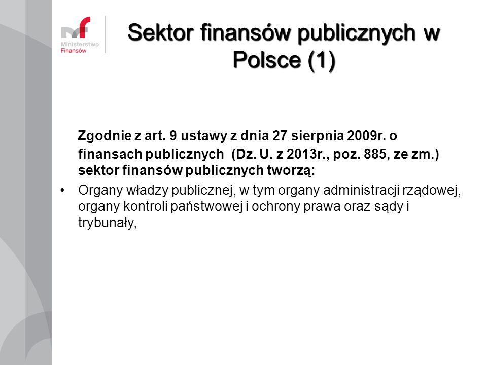 Sektor finansów publicznych w Polsce (1)