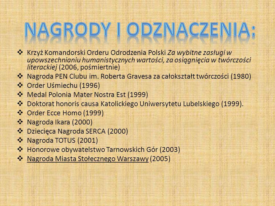 Nagrody i odznaczenia: