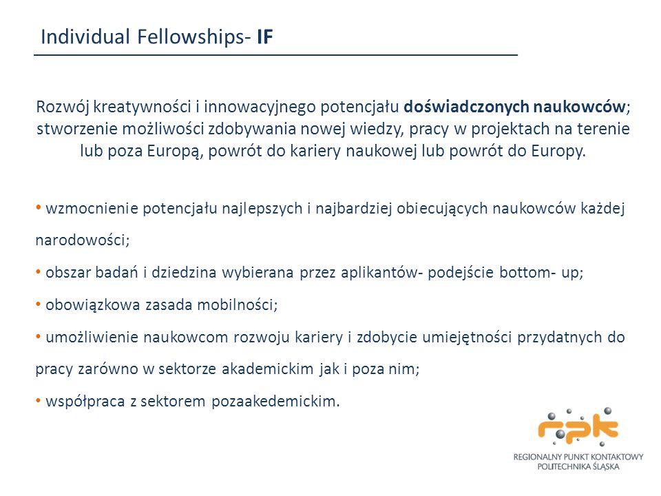 Individual Fellowships- IF