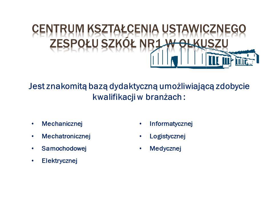 Centrum kształcenia ustawicznego zespołu szkół nR1 w Olkuszu