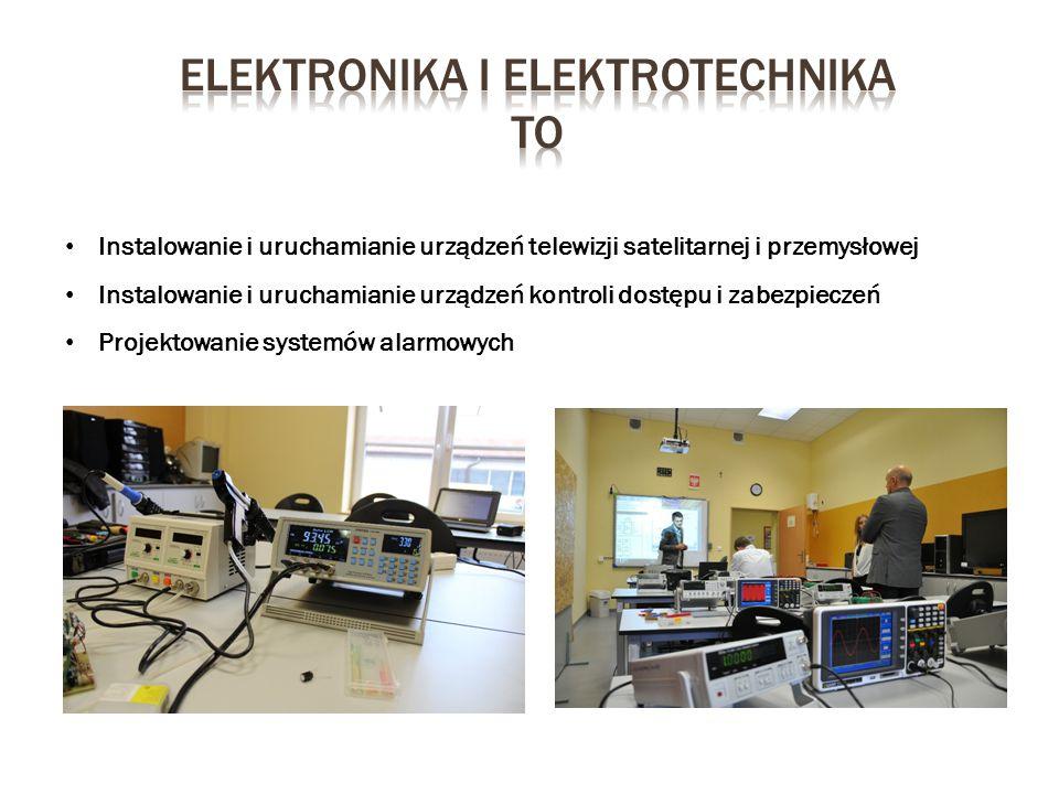 Elektronika i elektrotechnika to