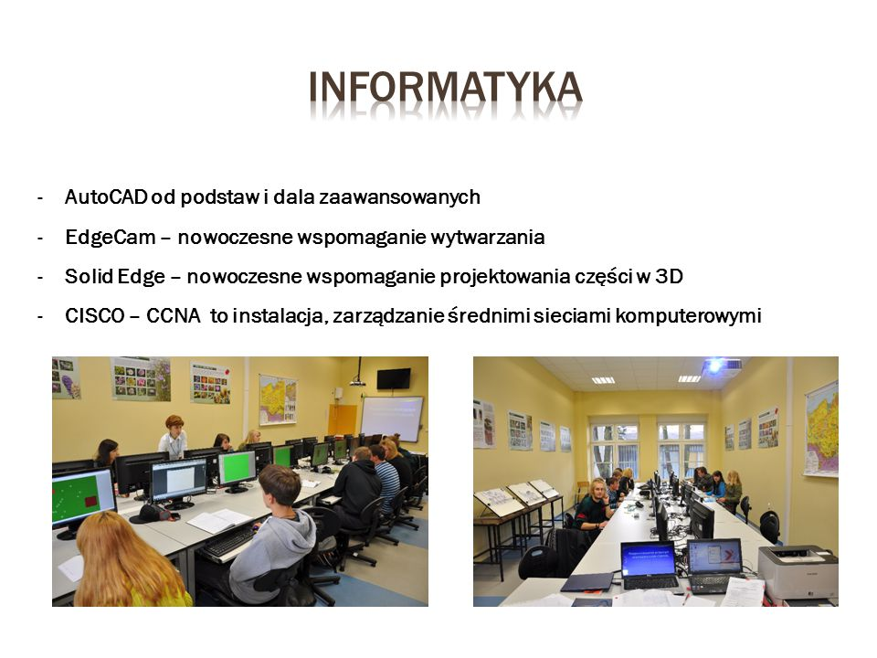 informatyka AutoCAD od podstaw i dala zaawansowanych