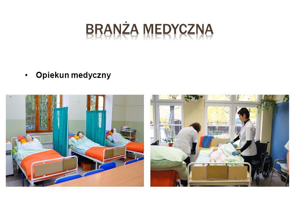 Branża medyczna Opiekun medyczny