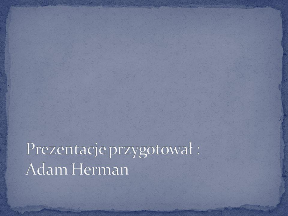 Prezentacje przygotował : Adam Herman
