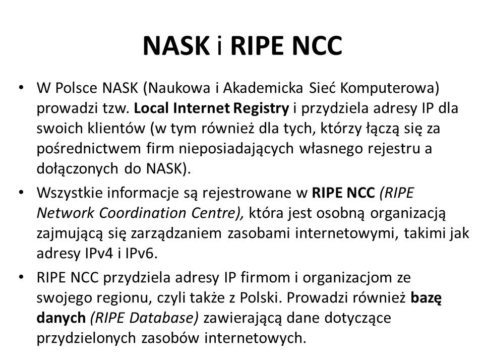 NASK i RIPE NCC