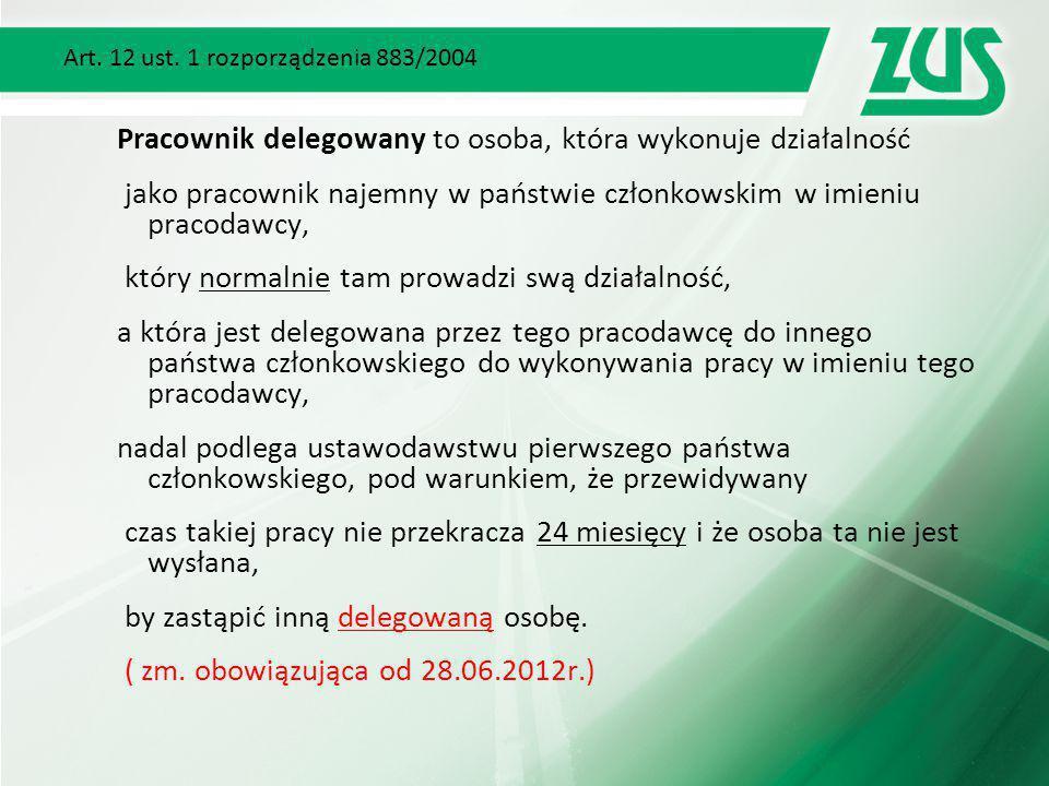 Art. 12 ust. 1 rozporządzenia 883/2004