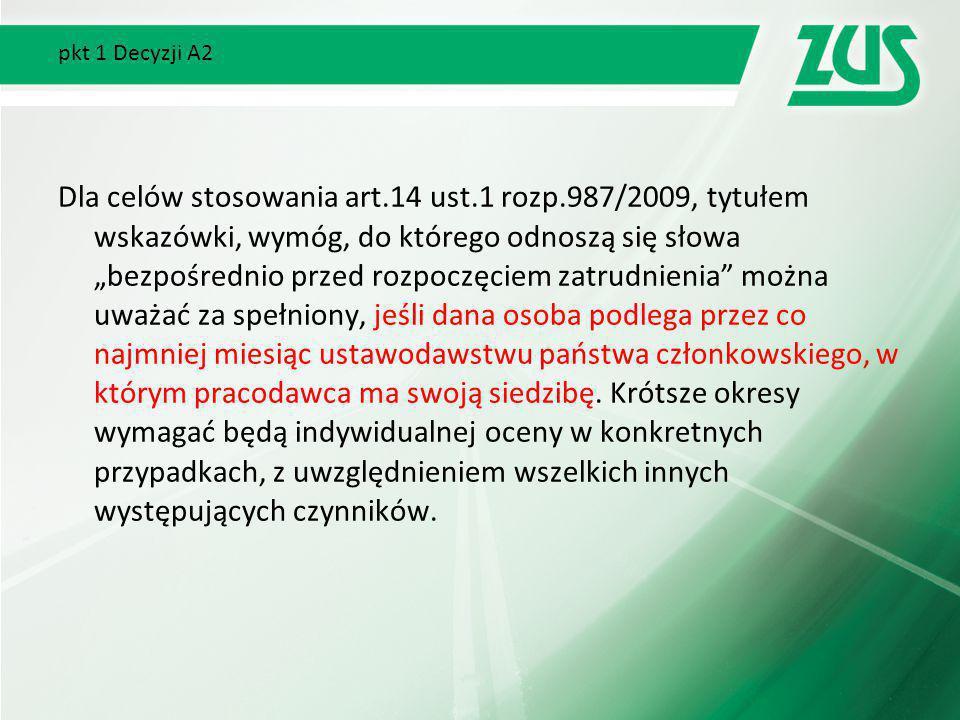 pkt 1 Decyzji A2