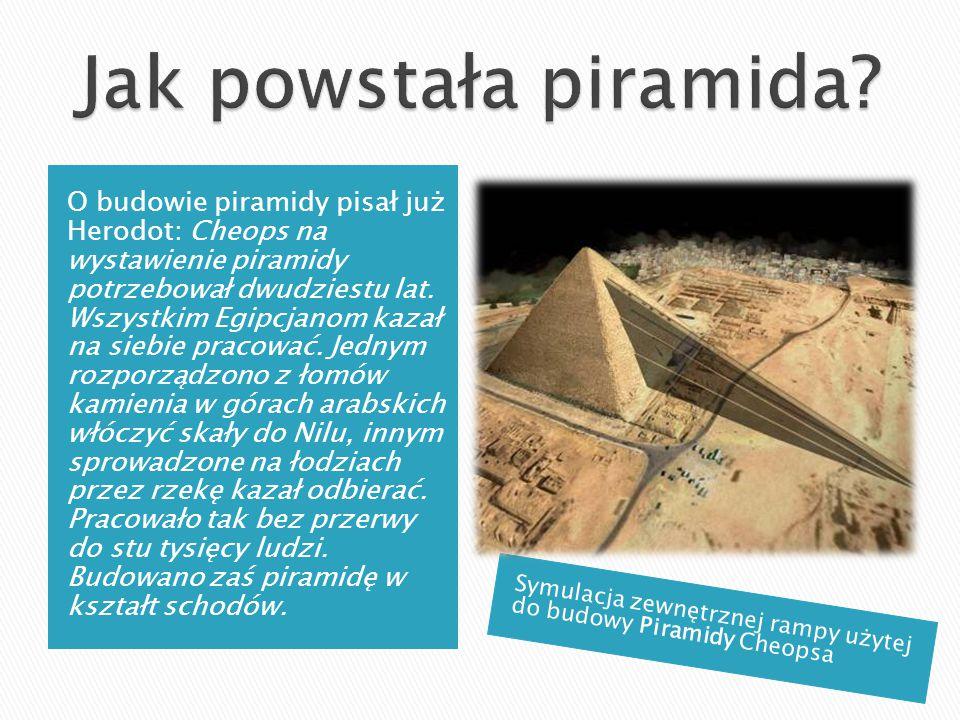 Jak powstała piramida
