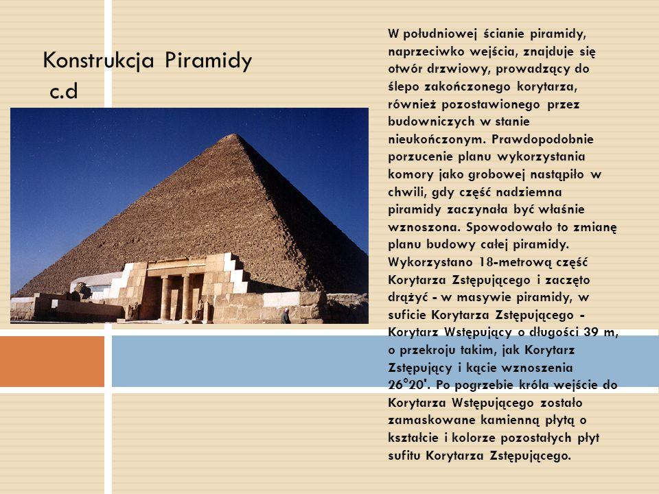Konstrukcja Piramidy c.d