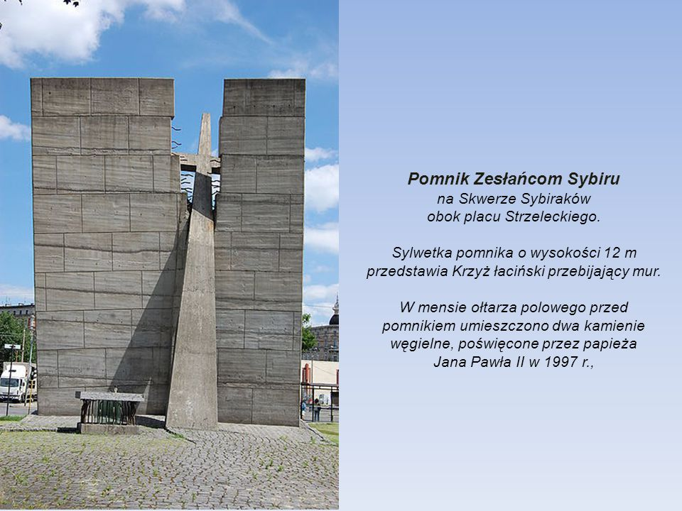 Pomnik Zesłańcom Sybiru