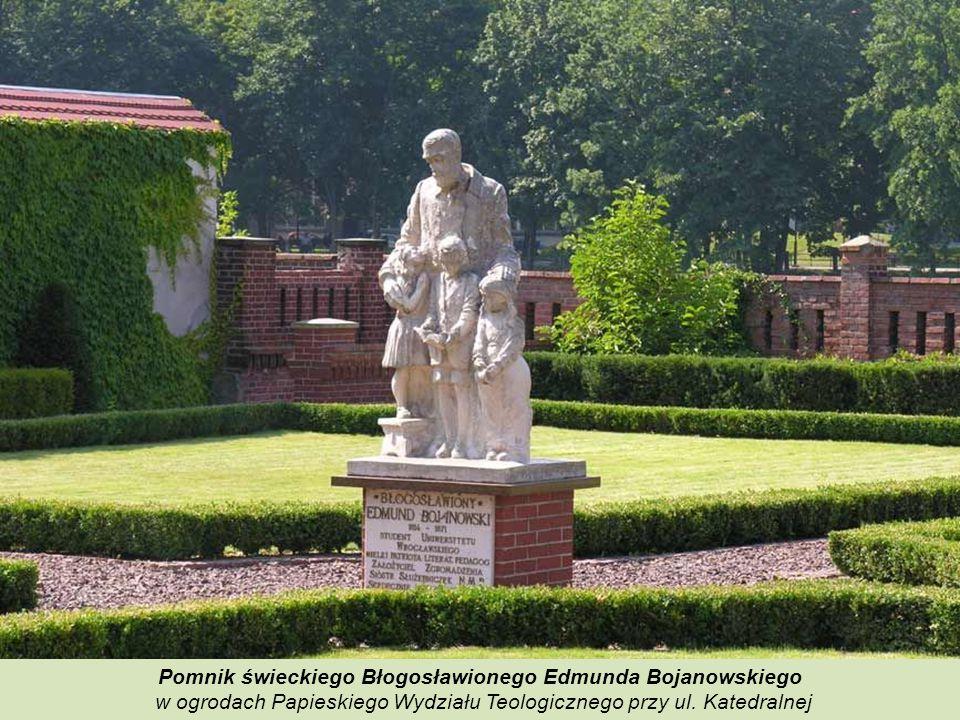 Pomnik świeckiego Błogosławionego Edmunda Bojanowskiego