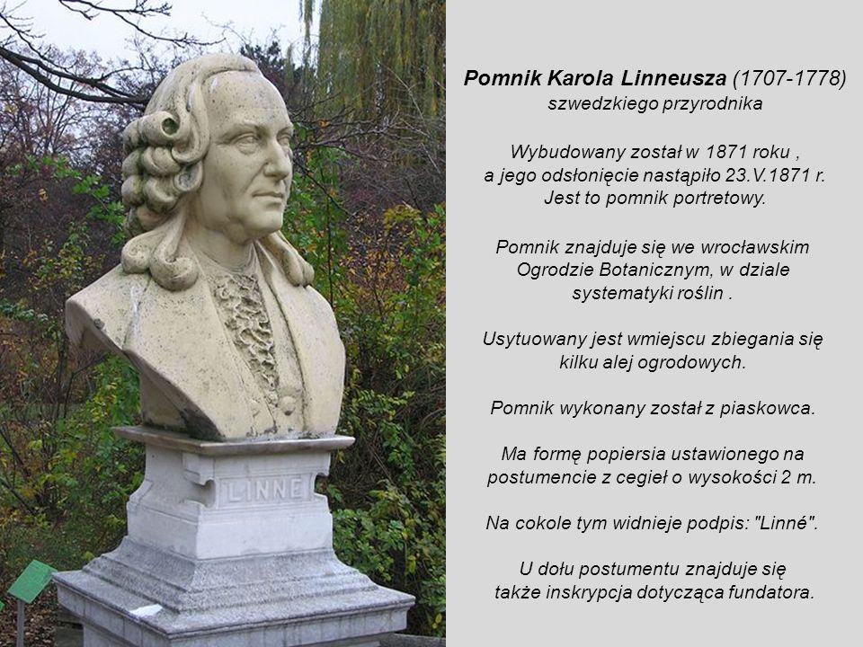 Pomnik Karola Linneusza (1707-1778)