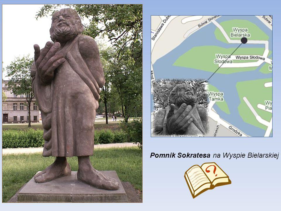 Pomnik Sokratesa na Wyspie Bielarskiej