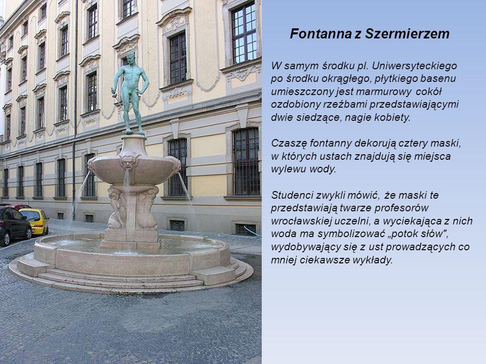 Fontanna z Szermierzem