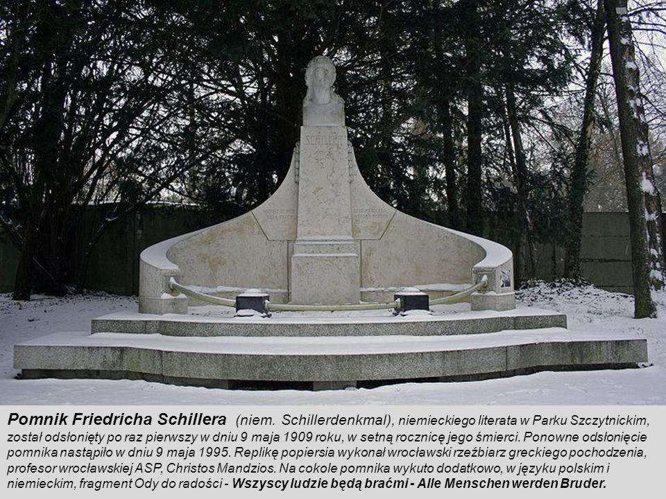 Pomnik Friedricha Schillera (niem