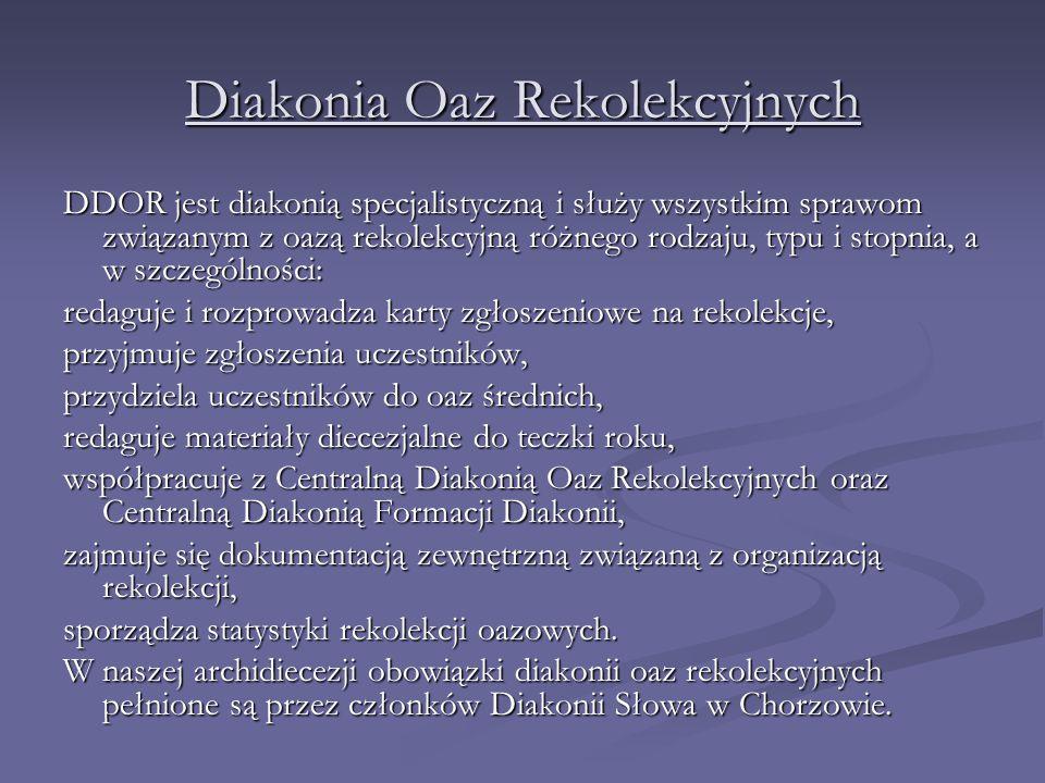 Diakonia Oaz Rekolekcyjnych