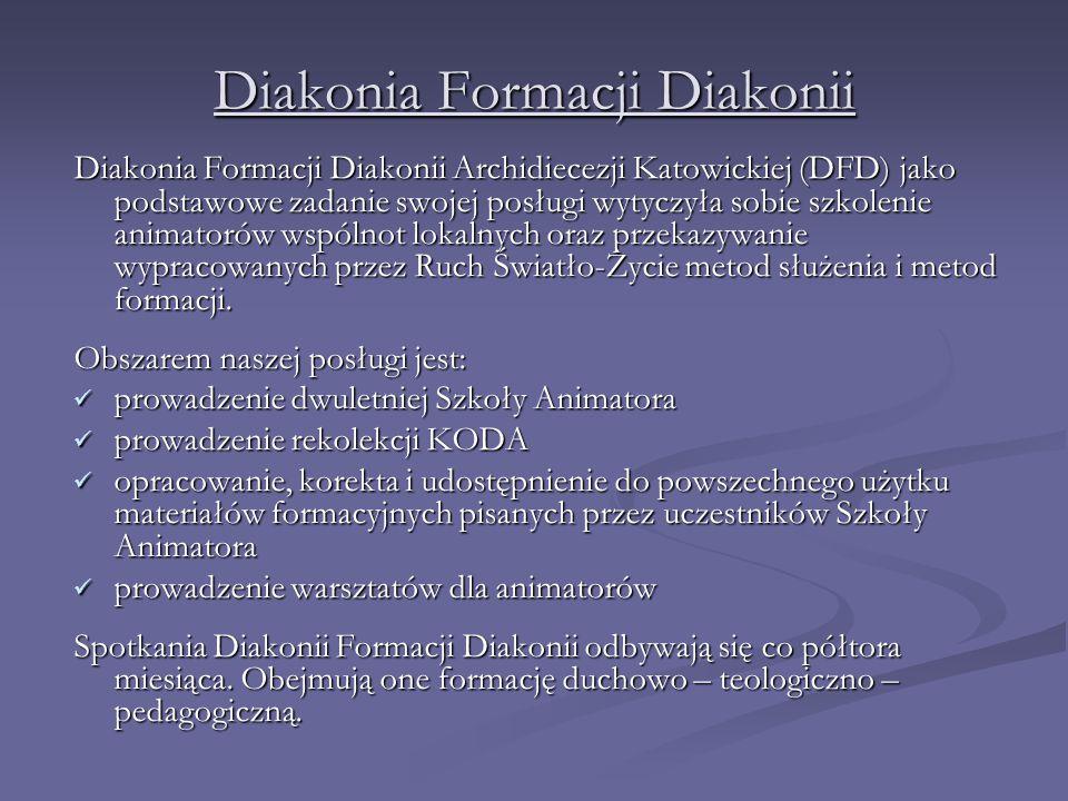 Diakonia Formacji Diakonii