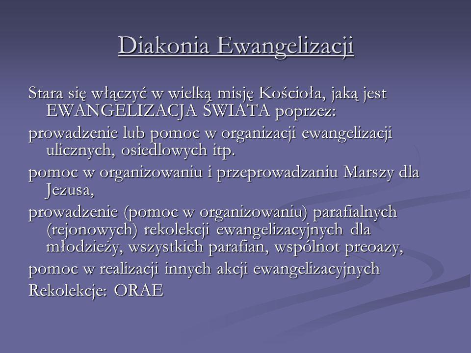 Diakonia Ewangelizacji