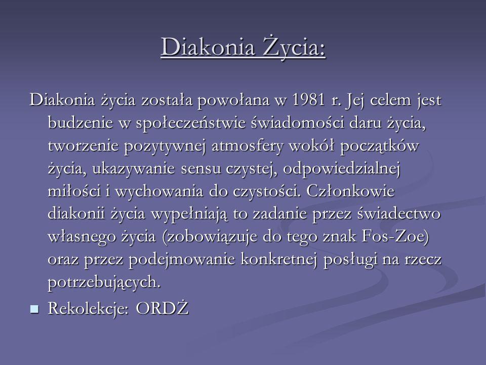 Diakonia Życia: