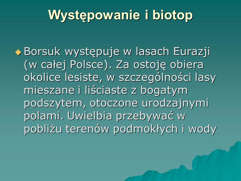 Występowanie i biotop