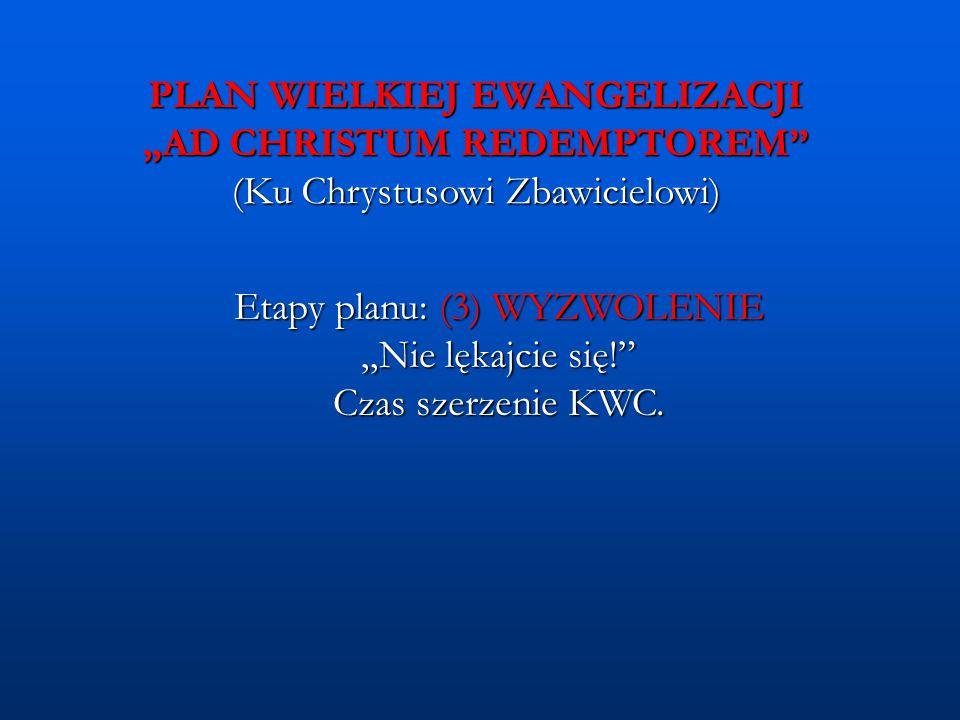 Etapy planu: (3) WYZWOLENIE