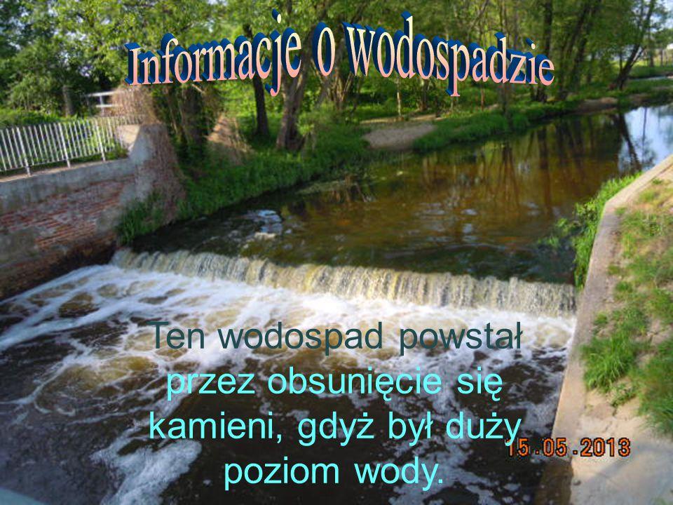Informacje o wodospadzie