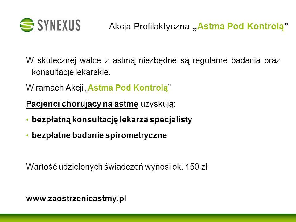 """Akcja Profilaktyczna """"Astma Pod Kontrolą"""