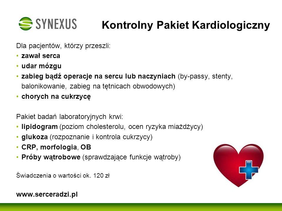 Kontrolny Pakiet Kardiologiczny