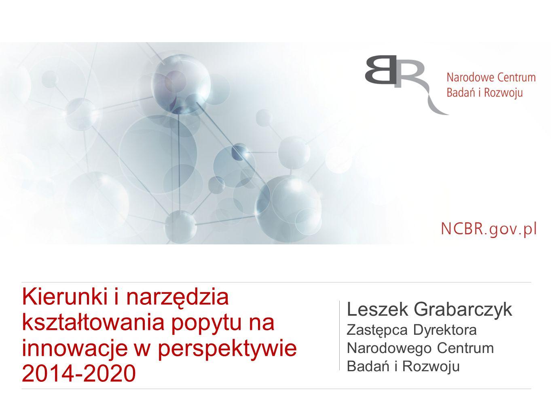 Kierunki i narzędzia kształtowania popytu na innowacje w perspektywie 2014-2020