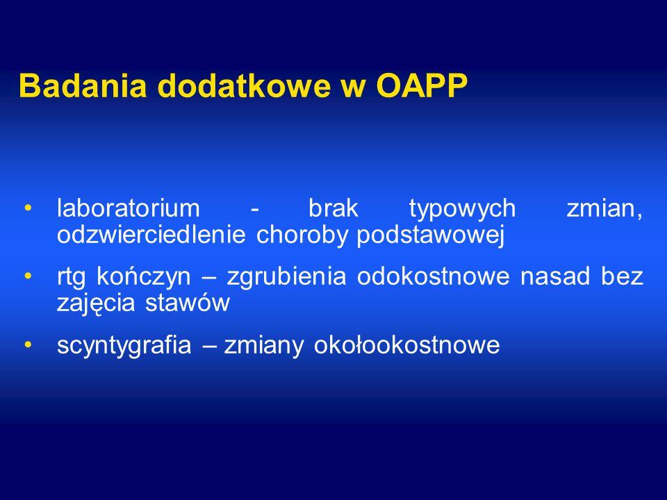 Badania dodatkowe w OAPP