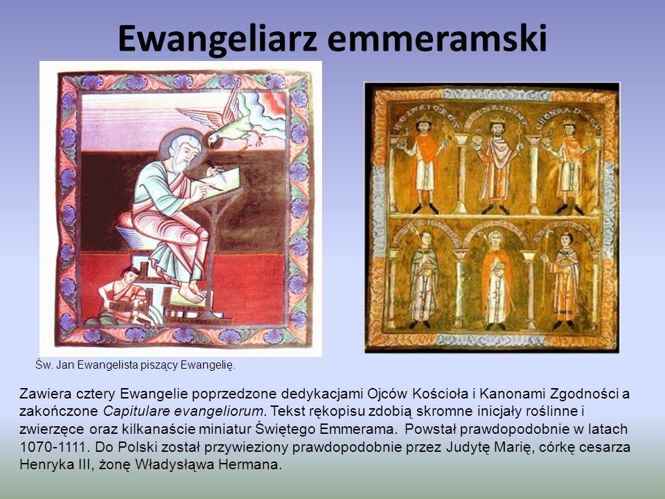 Ewangeliarz emmeramski