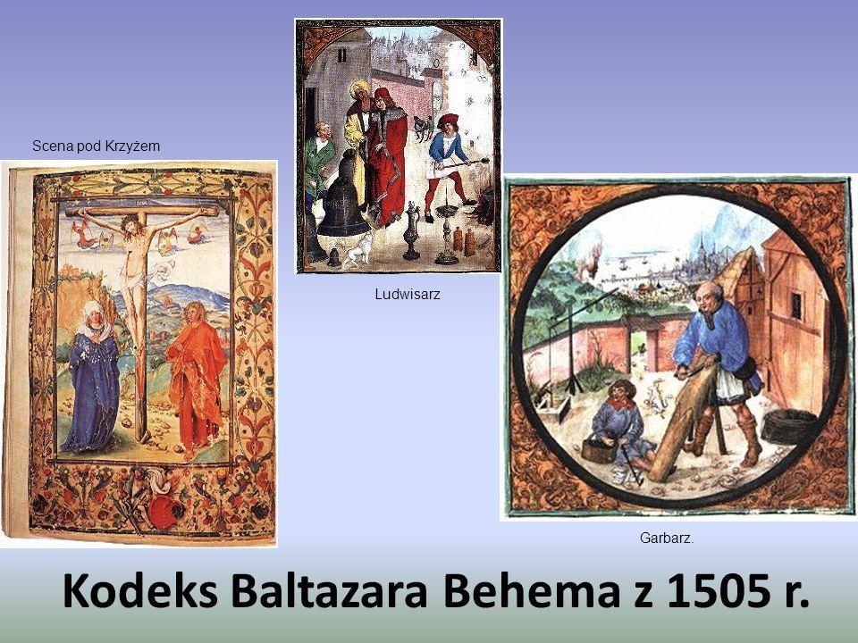 Kodeks Baltazara Behema z 1505 r.