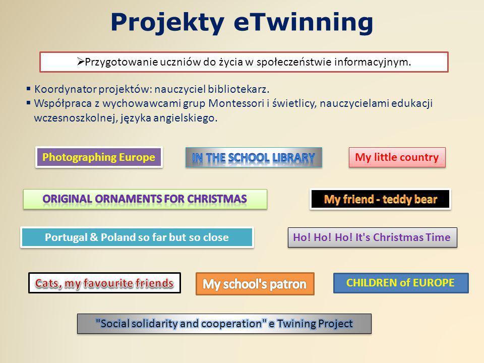 Projekty eTwinning My school s patron