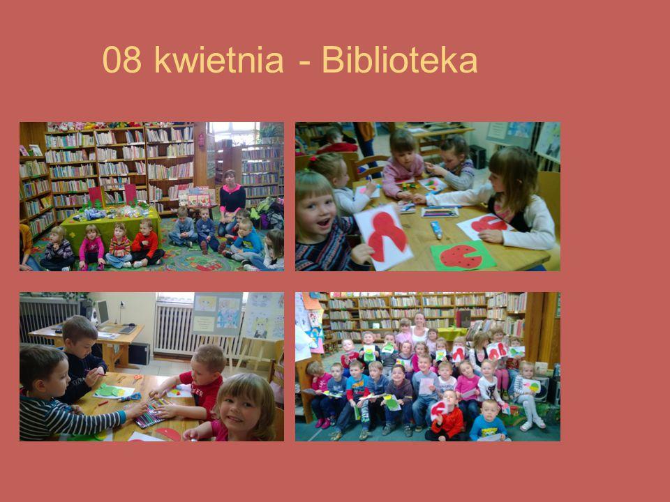 08 kwietnia - Biblioteka