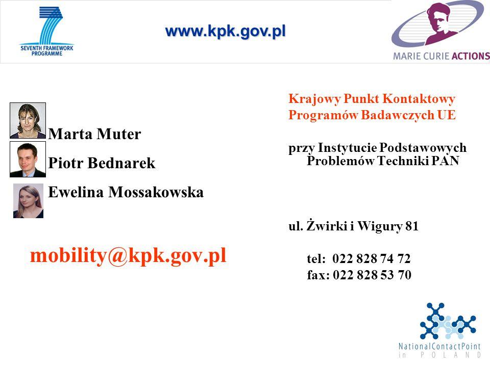 mobility@kpk.gov.pl www.kpk.gov.pl Piotr Bednarek Ewelina Mossakowska