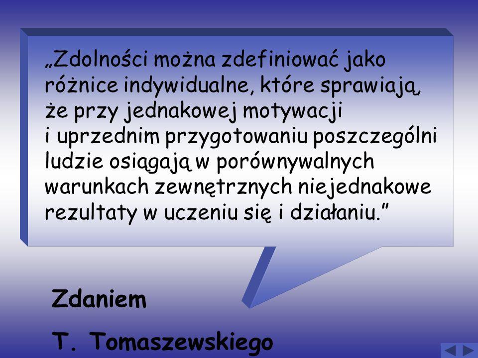 Zdaniem T. Tomaszewskiego
