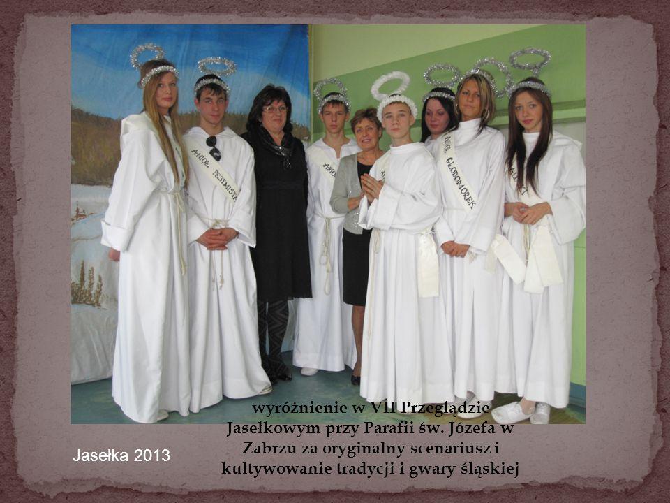 wyróżnienie w VII Przeglądzie Jasełkowym przy Parafii św