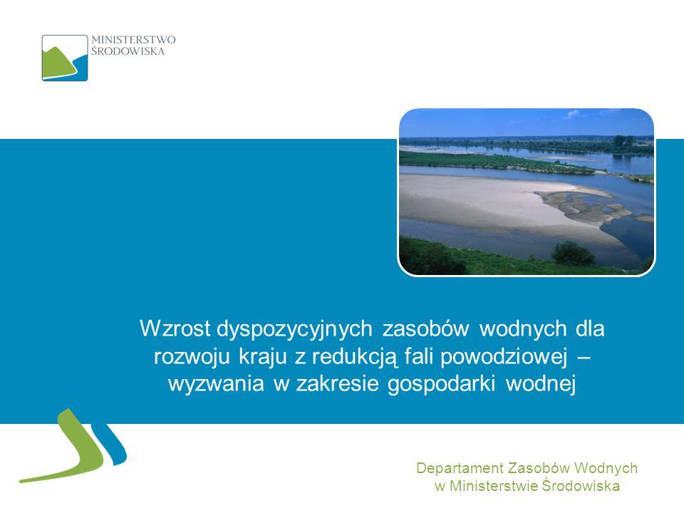 Departament Zasobów Wodnych w Ministerstwie Środowiska