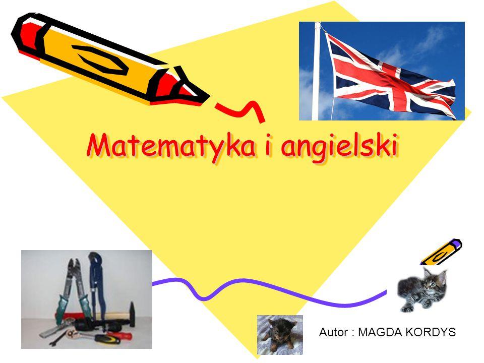 Matematyka i angielski