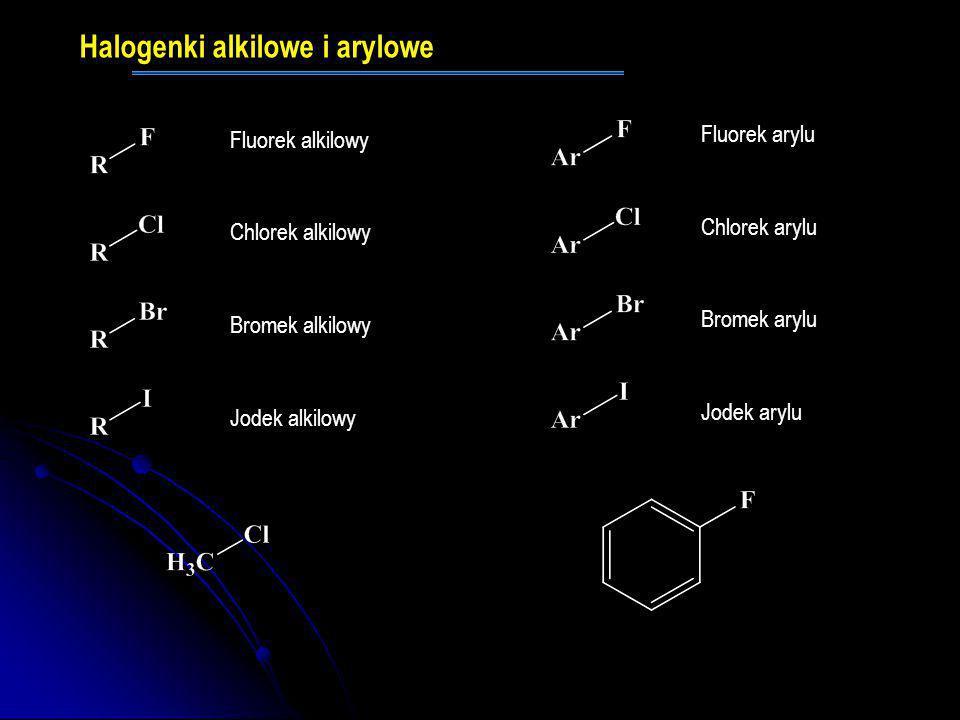 Halogenki alkilowe i arylowe