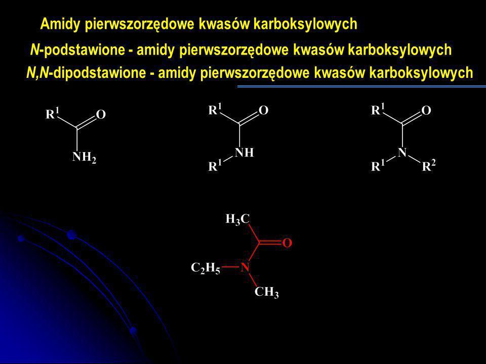 Amidy pierwszorzędowe kwasów karboksylowych