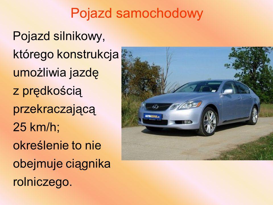Pojazd samochodowy