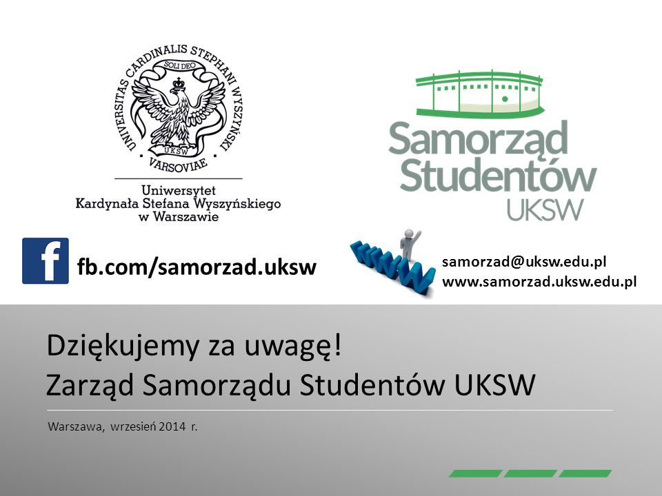 Zarząd Samorządu Studentów UKSW