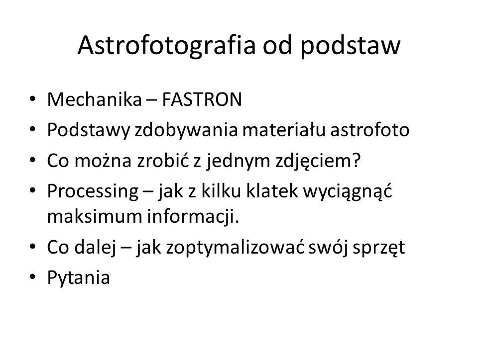 Astrofotografia od podstaw