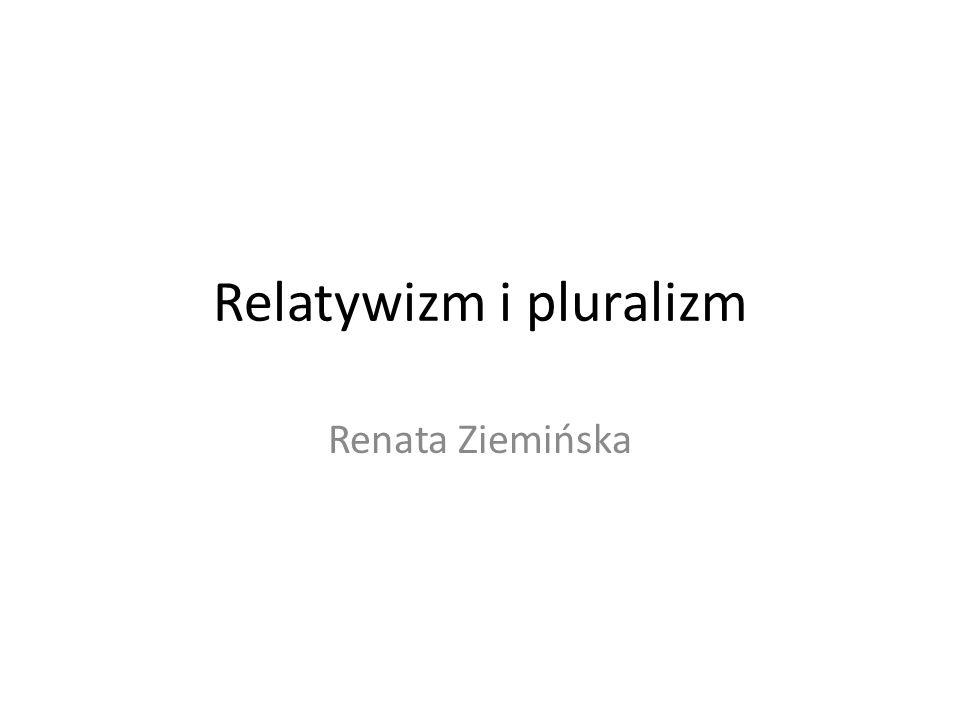 Relatywizm i pluralizm