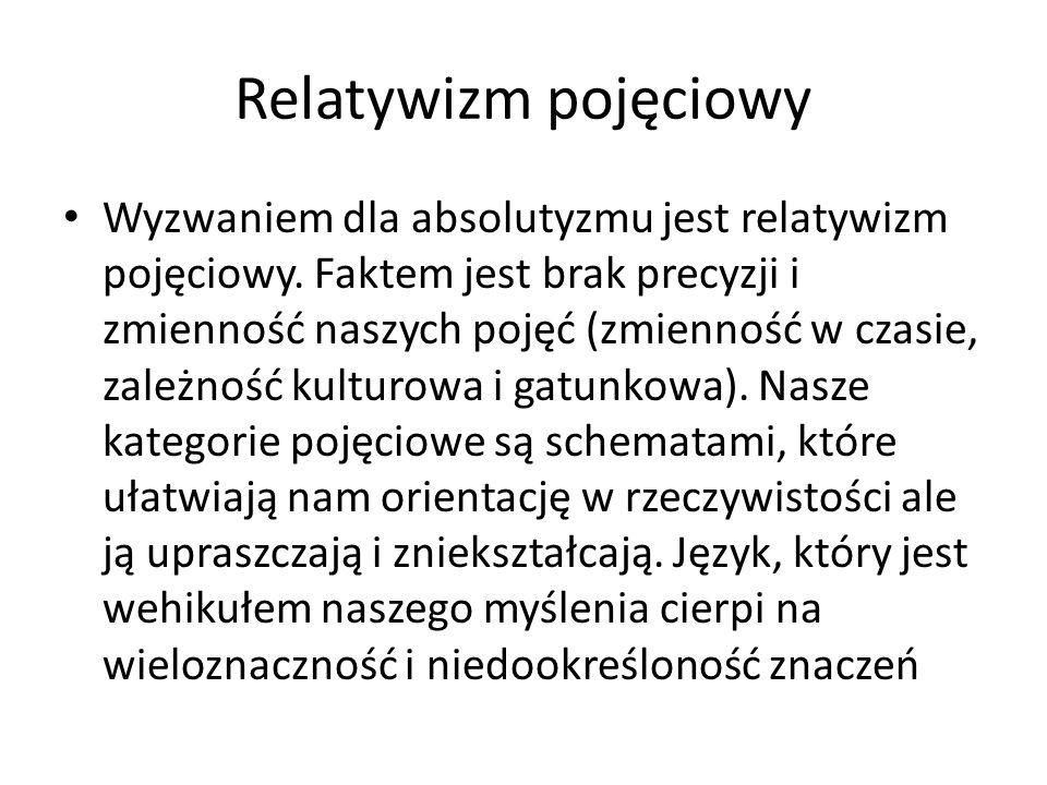 Relatywizm pojęciowy