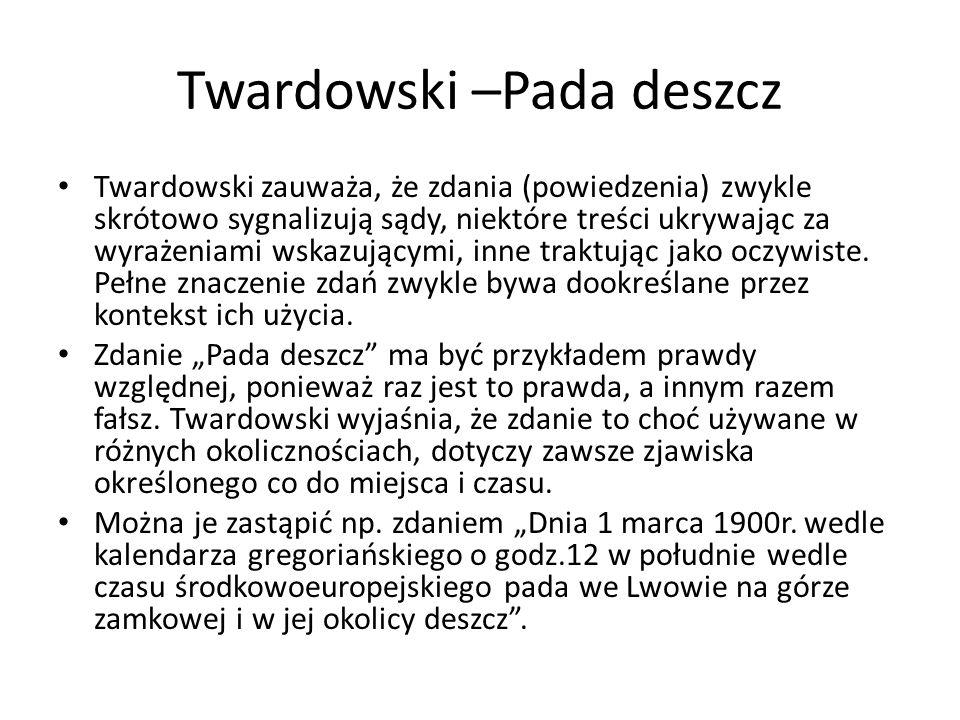 Twardowski –Pada deszcz