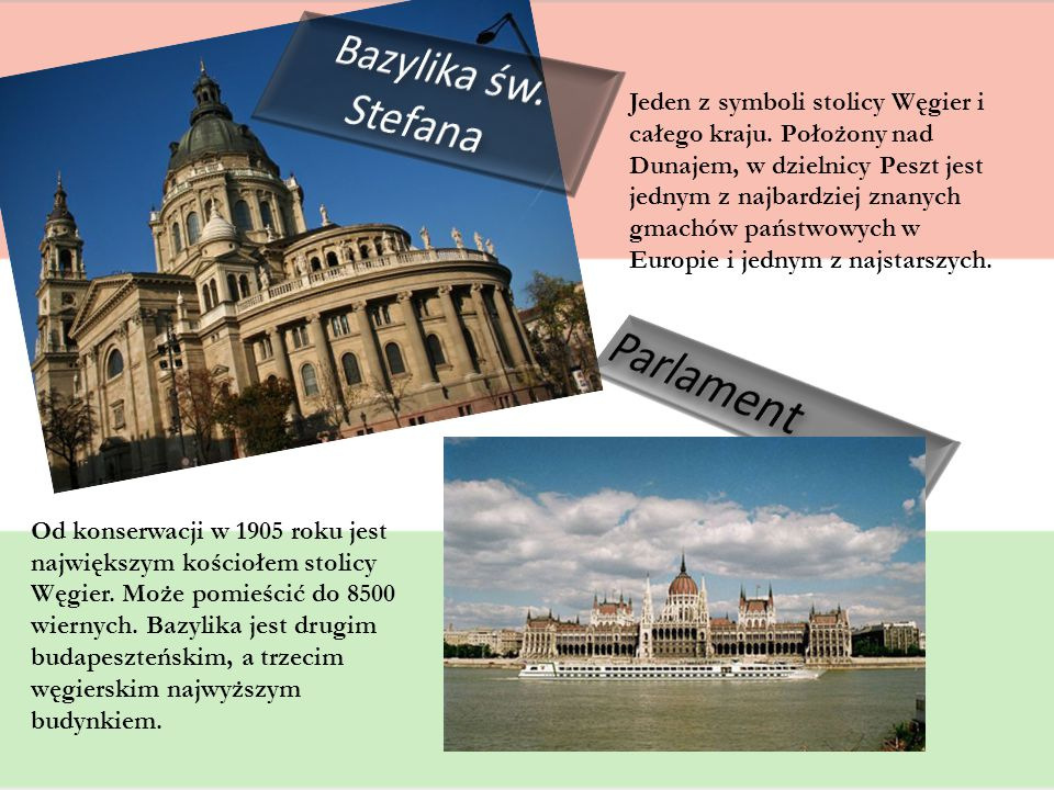 Parlament Bazylika św. Stefana